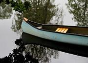 Canoe Print by Odd Jeppesen