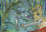 Canoe Originals - Canoe Race by Susie Morrison
