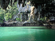 Canoeing In Thailand Print by Kelly Jones