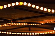 Light Bulbs Prints - Canopy Lighting Abstract Print by Richard Henne