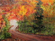 Motivational Painting Originals - Canopy of Colors by Jack  Brauer