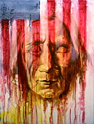 Americans Mixed Media Posters - Cant Hide the Past Poster by Jerry Frech