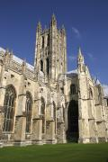 Religious Photography Posters - Canterbury Cathedral, Exterior Poster by Axiom Photographic