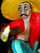 Folkart Photos - Cantina Boy 2 by Olden Mexico