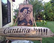 Featured Reliefs Originals - Cantina Pancho Villa by Calixto Gonzalez
