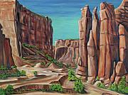 Counry Prints - Canyon de Chelly AR Print by George Chacon
