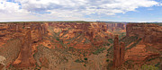 Utah Posters - Canyon De Chelly HDR Panorama Poster by Samuel Kessler