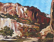 Canyon Paintings - Canyon de Chelly by Sandy Tracey