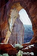 Canyon De Chelly Posters - Canyon de Chelly Spirit Poster by Richard Henne