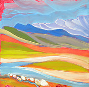 Canyons Paintings - Canyon Dreams 29 by Pam Van Londen