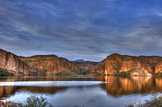 Desert Lake Photo Posters - Canyon Lake Poster by Christopher Williams