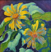 Naturalistic Originals - Canyon Sunflower by Elena Roche