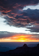 North Rim Photos - Canyon Sunset by David Bowman