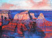 Arizona Pastels - Canyon Sunset by M Diane Bonaparte