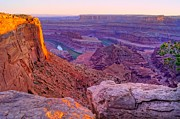 Colorado River Prints - Canyonlands Magical Light Print by Scott McGuire