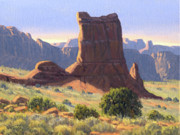 National Park Painting Posters - Canyonlands Poster by Randy Follis
