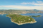Geography Framed Prints - Cap-ferrat Framed Print by Cranjam