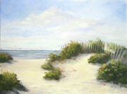 Sand Dunes Painting Posters - Cape Afternoon Poster by Vikki Bouffard