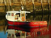 Rockport  Ma Framed Prints - Cape Ann Fishing Boat Framed Print by Juergen Roth