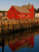 Motif 1 Posters - Cape Ann Fishing Shack Poster by Juergen Roth