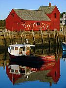 Fishing Shack Prints - Cape Ann Photography Print by Juergen Roth