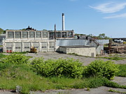 Abandoned Digital Art Originals - Cape Ann Tool Factory by Steve Breslow