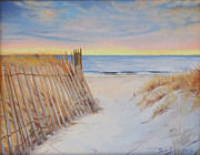 Cape Cod Paintings - Cape Beach by Sue Birkenshaw