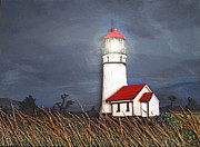 Foam Sculpture Prints - Cape Blanco Glow Print by Wendy McKennon