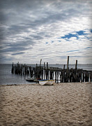 Cape Cod Bay Print by Joan  Minchak