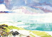 Cape Cod Paintings - Cape Cod Beach by Vannucci Fine Art