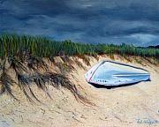 Cape Cod Painting Metal Prints - Cape Cod Boat Metal Print by Paul Walsh