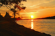 Louis Sarkas - Cape Cod Canal Sunset