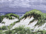 Cape Cod Paintings - Cape Cod Dunes by Richard Ramsey