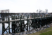 Cape Cod Metal Prints - Cape Cod Fishing Pier Metal Print by Extrospection Art