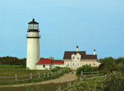 New England Lighthouse Prints - Cape Cod Highland Lighthouse Print by Juergen Roth