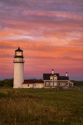 New England Lighthouse Prints - Cape Cod Light Truro Print by John Greim