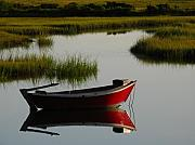 Dinghy Photos - Cape Cod Photography by Juergen Roth