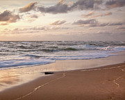 New England Ocean Prints - Cape Cod Sunrise 1 Print by Susan Cole Kelly