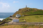 Cape Cornwall Prints - Cape Cornwall Print by Ed Lukas