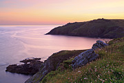 Cape Cornwall Prints - Cape Cornwall to Kenidjack Castle Print by Richard Thomas
