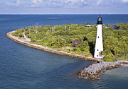 Cape Florida Lighthouse Art - Cape Florida by Patrick M Lynch