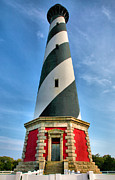 Hatteras Photos - Cape Hatteras Lighthouse I by Steven Ainsworth