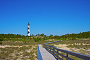 Harkers Island Photos - Cape Lookout 2 by East Coast Barrier Islands Betsy A Cutler