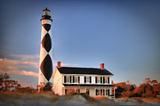 Joye Ardyn Durham Framed Prints - Cape Lookout 2 Framed Print by Joye Ardyn Durham