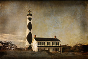 Joye Ardyn Durham Framed Prints - Cape Lookout Framed Print by Joye Ardyn Durham