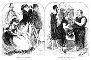 Hoop Prints - Cape May Fashion, 1866 Print by Granger