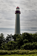 Lighthouse Digital Art - Cape May New Jersey Lighthouse by Bill Cannon