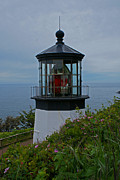 Bayscape Posters - Cape Meares Lighthouse Poster by Jake Johnson