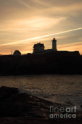Nubble Light House Prints - Cape Neddick Light - York  Maine Print by Erin Paul Donovan
