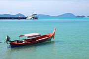 Phuket Prints - Cape Panwa Thailand Print by Charline Xia
